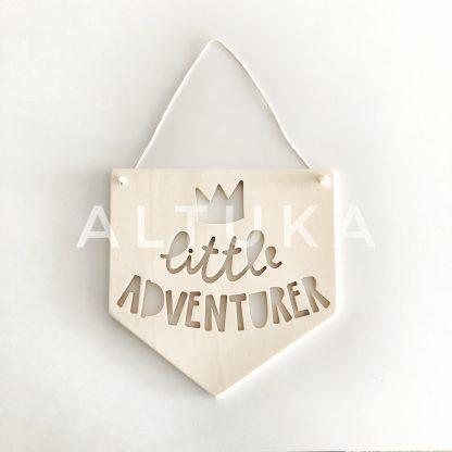 OCTANS Ahşap Flama Little Adventurer
