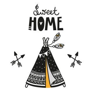 PUPPİS İskandinav Sweet Home Poster
