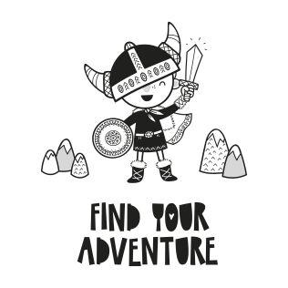 PUPPİS İskandinav Find Your Adventure Poster
