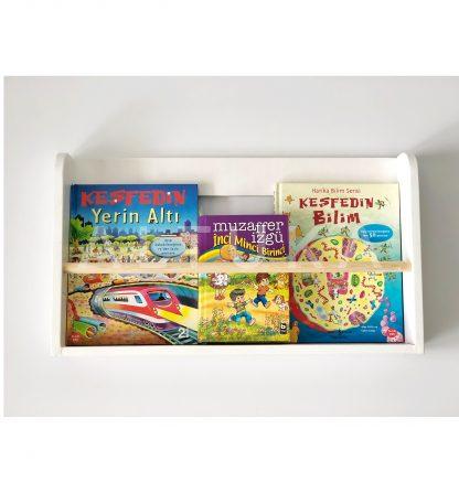 LEPUS Montessori Kitaplık (Tek Katlı)